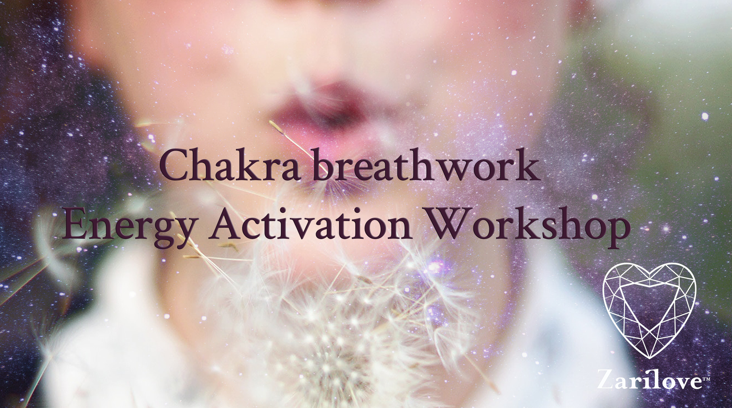 Chakra Breathwork and Energy Activation Workshop.