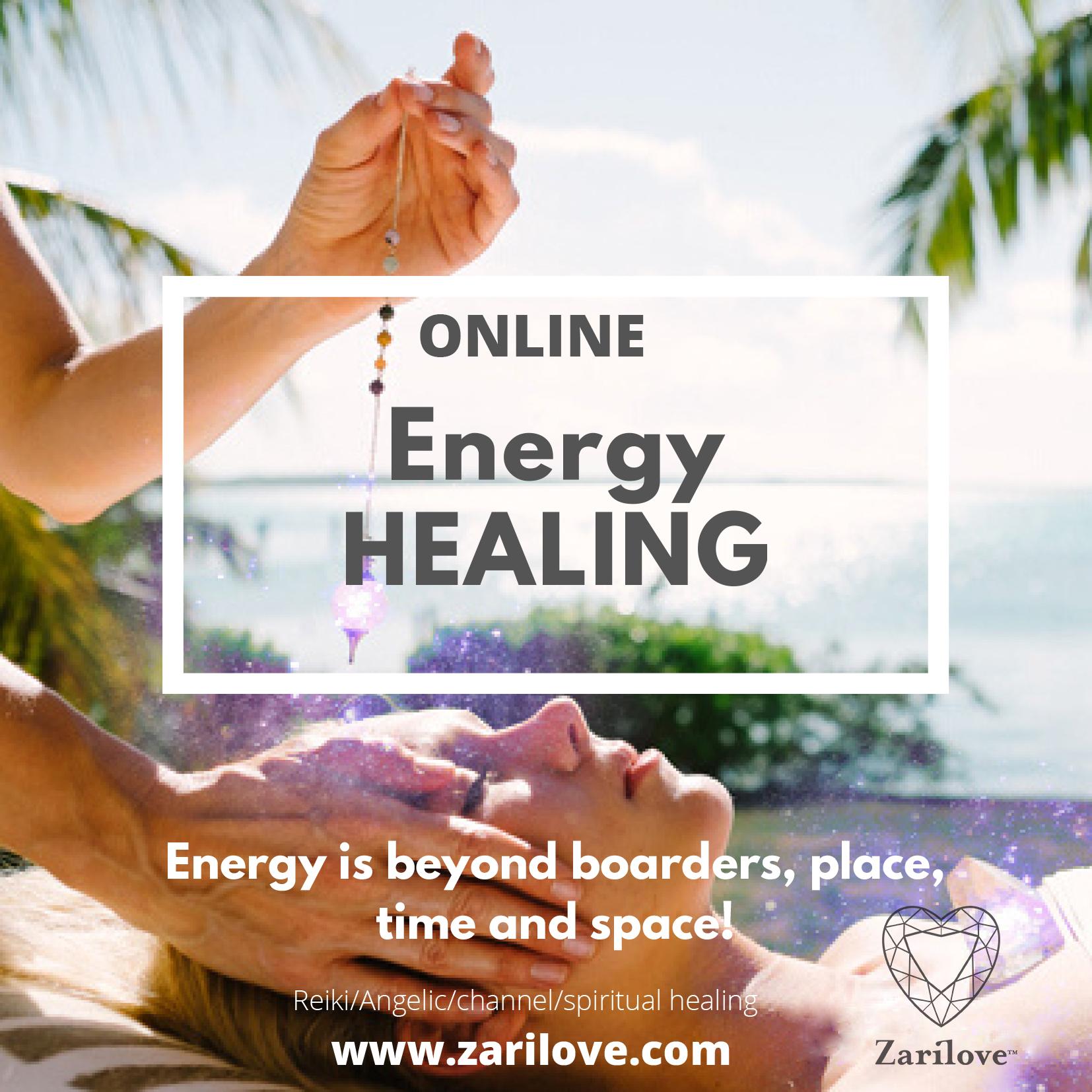 ENERGY HEALING ONLINE