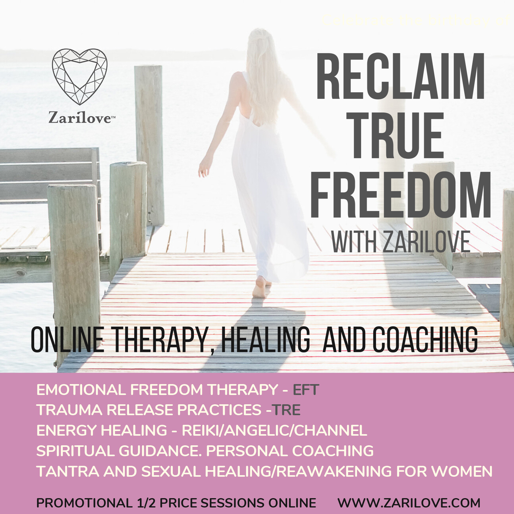 50% off Online Personal Coaching/Guidance Sessions ~ From Suffering to Success