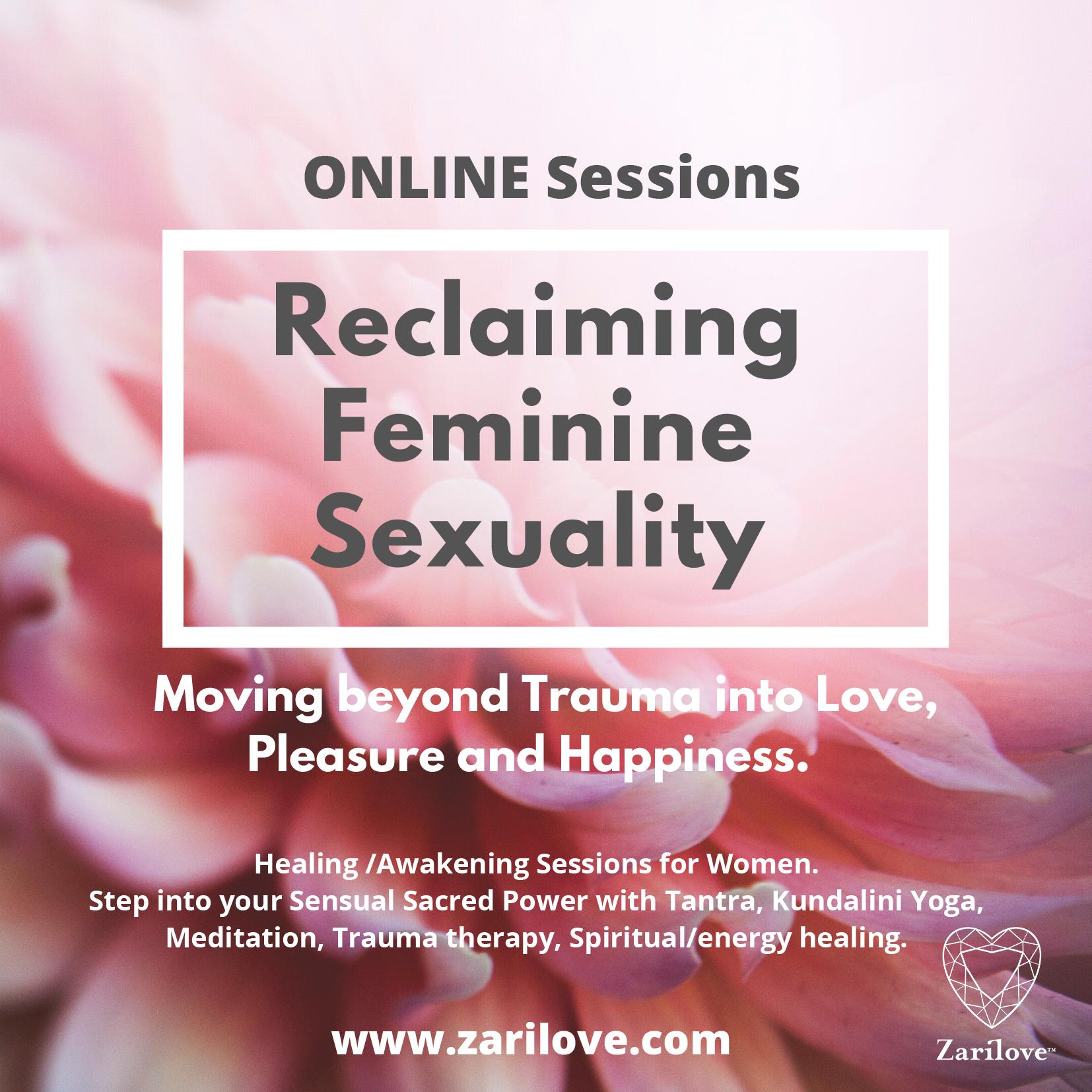 RECLAIMING FEMININITY- SEXUAL HEALING