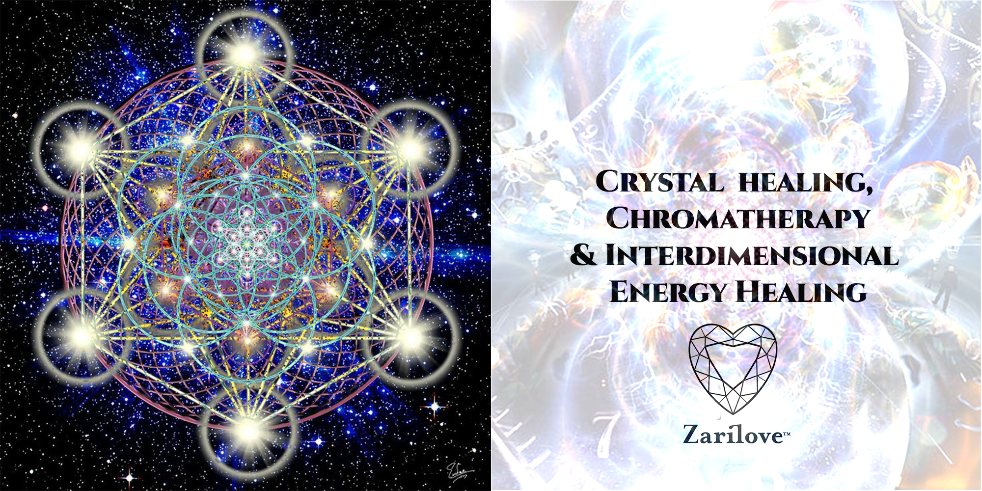 Crystal Healing with Inter-dimensional Energy Healing. Manchester